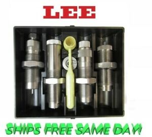Lee 4 Die Set for 350 Legend with Collet Style Crimp die 90078 + 90445 New!