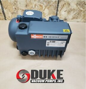 Busch R5 Kb 0016 E Oil Lubricated Rotary Vane Vacuum Pump