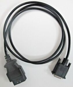 Obd2 Obdii Main Data Cable For Actron Et3420 hd Scan Tool Code Reader Scanner