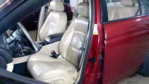 04 08 Jaguar S Type Leather Heated R Seat Set Front Rear Oem Used