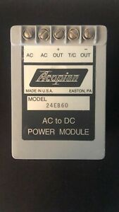 Acopian Power Supply Model 24eb60 Ac To Dc Module Made In Usa Power Module