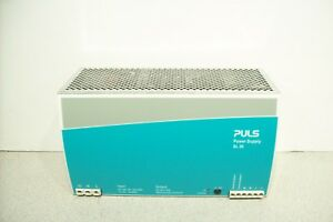 Puls Sl20 24v 20a Power Supply Sl20 115 W Din Rail Mount And Lock Tested