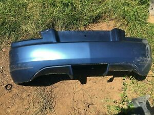 04 08 Chrysler Crossfire Rear Bumper Cover Assembly With Foam Oem Blue