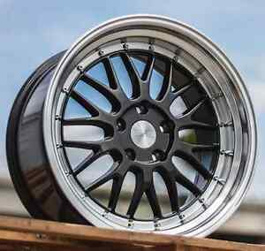 Esr Sr05 18x8 5 5x100 30 Wheels For Scion Frs Tc Xd Brz Impreza 18 Rims Set 4