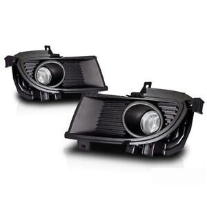 For 2004 2005 Mitsubishi Lancer Clear Lens Chrome Housing Fog Lights Lamps