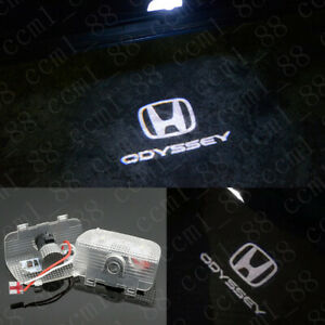 Led Light Door Projector Welcome White Logo Emblem Kit For Honda Odyssey 2008 19