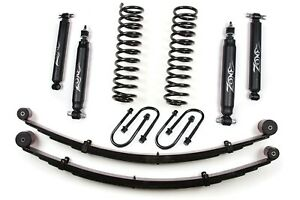 Zone Offroad 3 Suspensions Lift System For Jeep Xj Cherokee 84 01 Dana 35