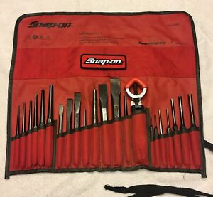 Snap on Tools 22pc Punch Chisel Set Ppc210bk