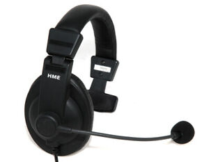 Hme Clear com Hs15 Headset Microphone For Wireless Intercom 306g100 1 Single