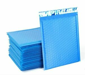 Blue Poly Bubble Padded Shipping Mailers 000 00 0 cd 1 2 3 4 5 6 7