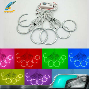 Bluetooth Wifi Multi color Led Angel Eye Light Kit For Toyota Reiz Mark X 05 09