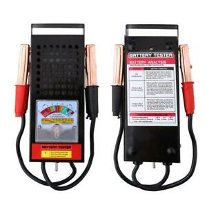 Battery Load Tester 6v 12v 100 Amp Load Type Mechanics For Volt Car Truck Van