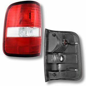 04 08 Ford F150 Pickup Truck Rear Tail Light Lamp Taillight Taillamp Driver Left