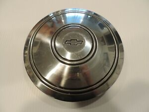 Single 1 Vintage Chevrolet Bowtie Hub Cap Police Style That Fits Rally Wheel