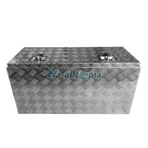 36 Aluminum Pickup Truck Underbody Bed Tool Box Under Trailer Tool Storage