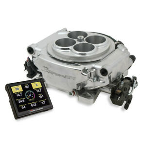 Holley Sniper 550 510 Sniper Efi Fuel Injection Conversion Throttle Body Shiny