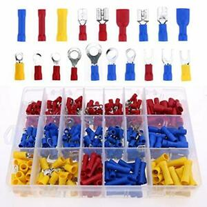 Techable 270pc Combo Kit Heat Shrink Tubing Terminals And Solder Seal Wire