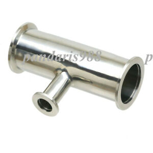 Reducing Tee Middle Kf 16 2 Side Kf 25 Vacuum Fitting 304 Stainless Steel
