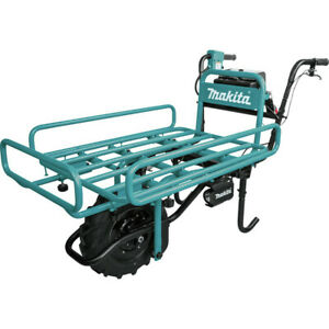 Makita 18v X2 Lxt Power assisted Flat Dolly tool Only Xuc01x2 New