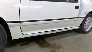 86 Dodge Daytona Turbo Z Left Driver Rocker Molding side Skirt Oem Used