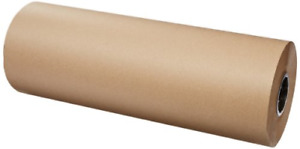 900 Ft Brown Kraft Paper Roll Wrapping Sheets Packing Shipping Mailing 24 Inch