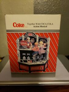 Coca Cola Enesco Action Musical   Together with COCA-COLA New In Box