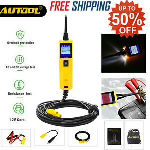 12v Automotive Power Probe Circuit Tester Diagnostic Electrical System Tool