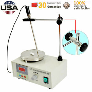 Hotplate Magnetic Stirrer Mixer Lab With Heating Plate 1000ml Digital Low Noise