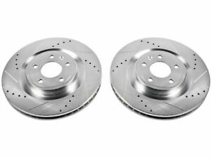 For 2011 2014 Ford Mustang Brake Rotor Set Front Power Stop 58231ch 2012 2013 Gt