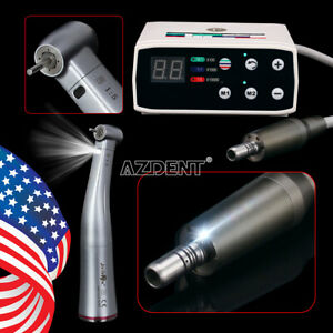 Sale Dental Led Brushless Electric Micro Motor 1 5 Increasing Contra Angle