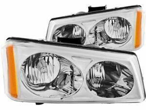 For 2003 2006 Chevrolet Silverado 2500 Hd Headlight Set Anzo 75266xf 2005 2004