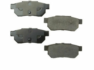 For 1985 1987 Honda Prelude Brake Pad Set Rear Opparts 95411nq 1986 2 0l 4 Cyl