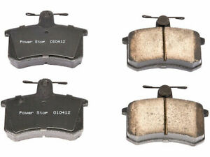 For 1988 1992 Audi 80 Quattro Brake Pad Set Rear Power Stop 87312sf 1989 1990