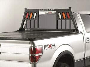 For Ford F350 Super Duty Cab Protector And Headache Rack Backrack 91885hz