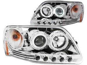 For 1997 2003 Ford Expedition Headlight Set Anzo 23131pw 1998 1999 2000 2001