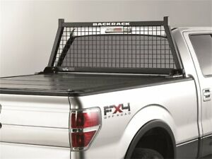 For Ford F350 Super Duty Cab Protector And Headache Rack Backrack 61422nk