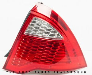 2010 2012 Ford Fusion Tail Light Passenger Side With Bulb Clean Oem