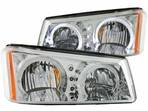For 2003 2006 Chevrolet Silverado 2500 Hd Headlight Set Anzo 31892gx 2004 2005