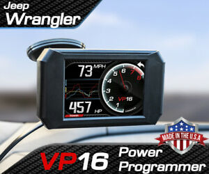 Volo Chip Vp16 Power Programmer Performance Race Tuner For Jeep Wrangler