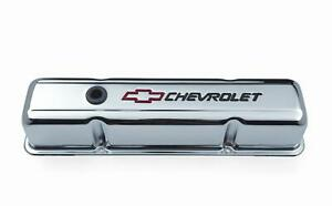 Proform Stamped Steel Chevrolet Valve Covers 141 905 Chevy Sbc 283 305 350 400