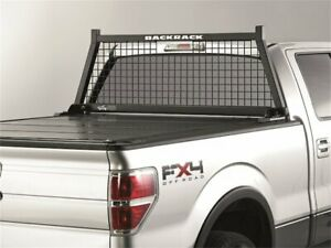 For Ford F250 Super Duty Cab Protector And Headache Rack Backrack 36195dy