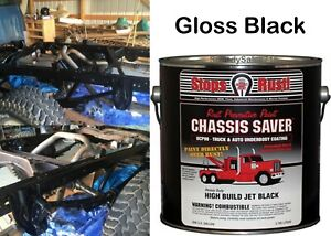 Magnet Paint Ucp99 01 Chassis Saver Paint Gloss Black 1 Gallon Can New Free Ship