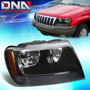 For 1999 2004 Jeep Grand Cherokee Wj Factory Style Headlight Lamp Assembly Right