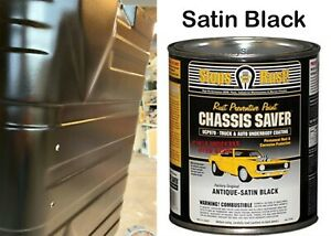 Magnet Paint UCP970-04 Chassis Saver Paint Satin Black 1 Quart Can New Free Ship