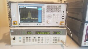 Hp 8657a Rf Signal Generator 0 1 1040 Mhz Guaranteed Operational