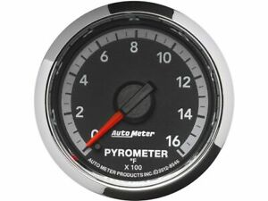 For 2010 Dodge Ram 3500 Boost Pyrometer Gauge Auto Meter 51367rx