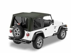 For 1997 2002 Jeep Wrangler Soft Top Bestop 38713md 1998 1999 2000 2001