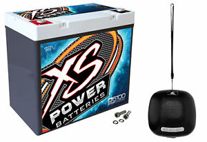 Xs Power D5100 3100 Amp Agm Power Cell Car Audio Battery Bluetooth Speaker