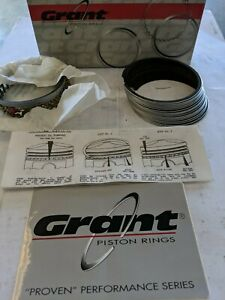 Grant Chevy 400 402 Race Proven Chrome Piston Rings 4 125 2x 1 16 3 16 File Fit