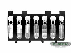For 2007 2017 Jeep Wrangler Grille T Rex 61418ch 2008 2009 2010 2011 2012 2013